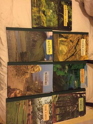 Bundle Set of 7 Readers Digest Books Vintage 'The Living Countryside' Nature Vintage Like New Cond