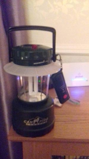 Camping Light with remote control