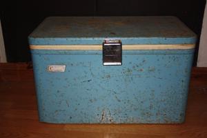 Coleman Metal retro Ice Box