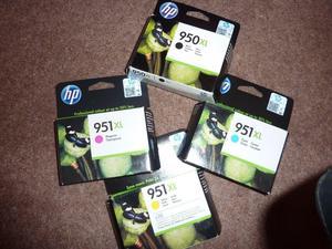 Genuine HP 951 XL High Yield Ink Cartridges