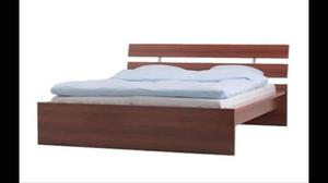 Ikea Hopen double bed