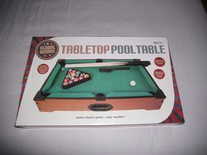 MINI POOL TABLE (BRAND NEW/UNUSED/BOXED)