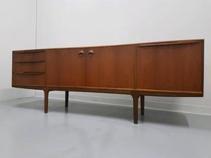 Mcintosh Dunvegan Danish style sideboard dark teak drinks cabinet mid century 60s