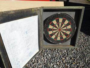 NODOR professional dart board.