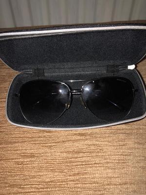Police sunglasses with Gucci case