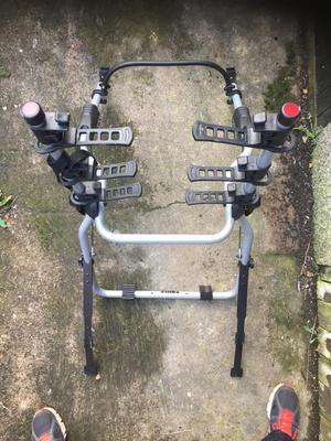 Thule  clip on 3 bike rack.