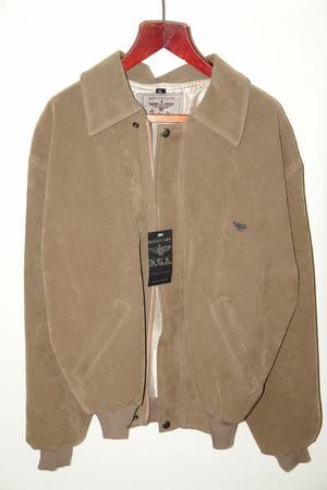 Unisex Faux-suede Jacket