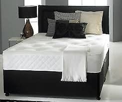 double bed and headboard with matt free delivery one week only