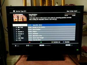 """22"""" SONY BRAVIA TV"""