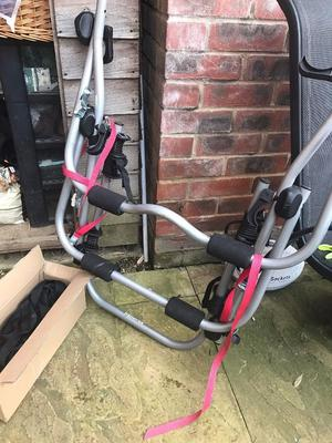 Bike rack (halfords) -for 3 bikes