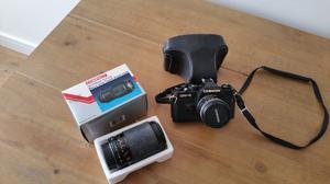 Chinon 35mm SLR Camera & Zoom Lens