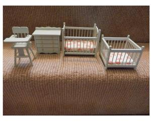 FULL HOUSE COLLECTION OF DOLLS HOUSE FURNITURE