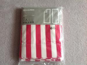 Ikea striped curtains