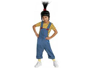 Kids and adult Minion costumes from Fancy Dress Factory