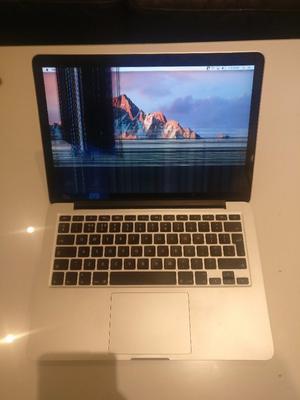 Macbook pro with broken Retina screen