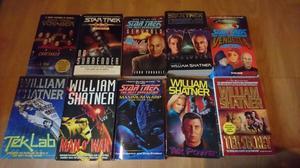 Star Trek novels joblot