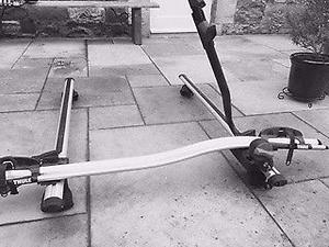 Thule Aero bars, approx 126cm length