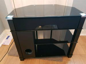 Tv stand with soundbar