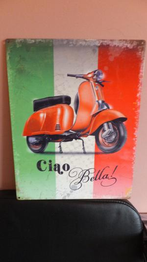 scooter signs metal & canvas plus club banner joblot see 5 images