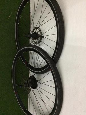 700c mtb wheel set bargain