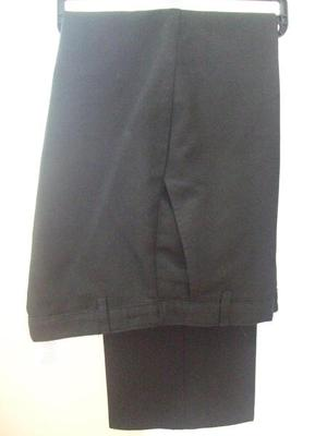 BLACK BOYS SCHOOL TROUSERS SIZE YRS