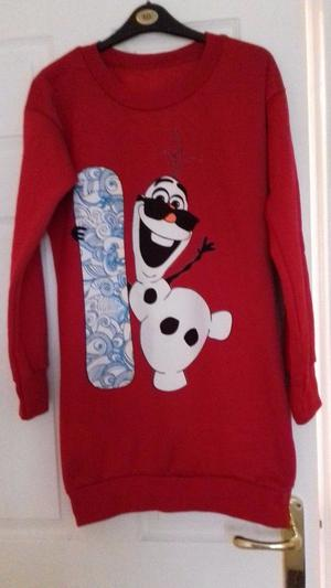 Brand new size Christmas jumper dress