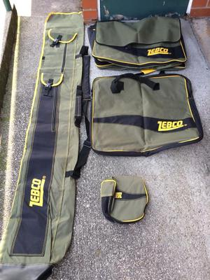 Brand new zebco luggage set