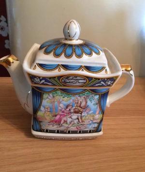 Midnight summer dream Staffordshire Teapot