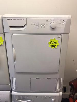 *** White Beko 6kg condensor dryer***Free Delivery & Removal***