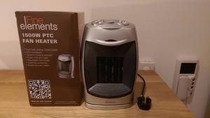 2 x Fan Heater