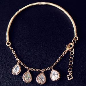 Chic Beads Water Drop Bracelet For Women
