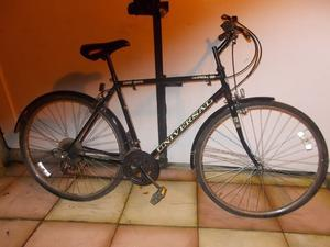 MENS BIKE--UNIVERSAL 6 SPEED--22inch frame--RIDE AWAY--£40