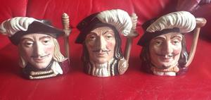 ROYAL DOULTON TOBY JUGS - EXCELLENT CONDITION - ALL TEN FOR £70 !!!!!
