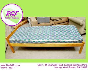 SALE NOW ON!! - Pine Single Bed Frame With Free Mattress If