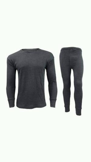 Thermal long John & long sleeve top shirt