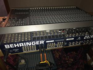 Behringer MX Eurodesk  Channel 8 Bus Analogue Studio Sound Mixer