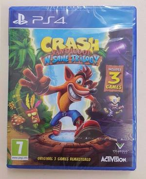 Crash Bandicoot N. Sane Trilogy (PS4) Brand New Sealed