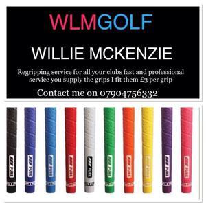 Golf re gripping