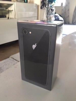 IPHONE 8 UNLOCKED 64GB SPACE GREY BRAND NEW SEALED