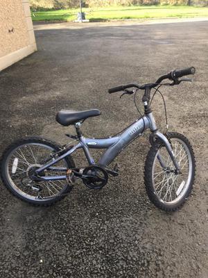 Kids 16 inch mountain bike.