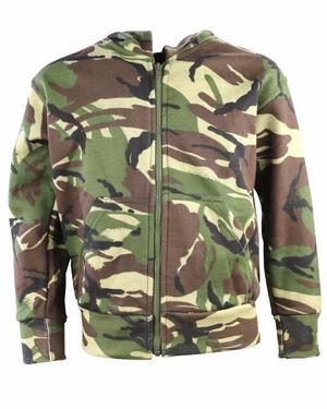 Kombat Kids Army Style Hoodie BTP Camo Airsoft DPM
