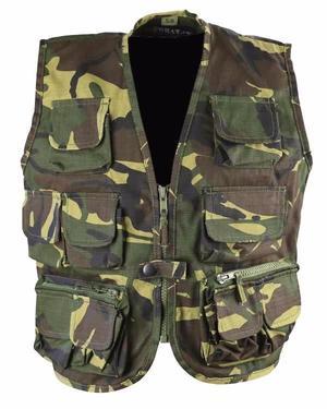 Kombat Kids Tactical Vest DPM Woodland Camo BTP