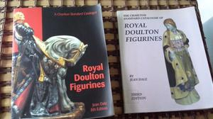 Royal Doulton Figurines - 2 copies of Charlton Standard Catalogues