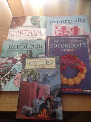 Selection of craft books ex con