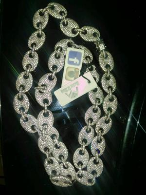 925 solid gucci link chain