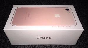 Brand new rose gold IPhone 7