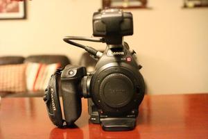 Canon C100 Cinema Broadcast Camera. Excellent condition.