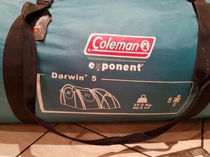 Coleman 5 man tent