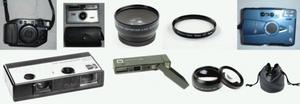 Collectors Vintage Various Cameras 35mm & Lens Filters