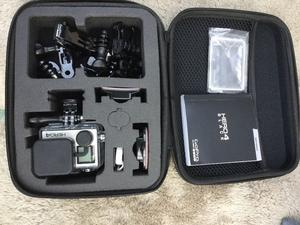 GoPro hero 4 Black As New with accessories £